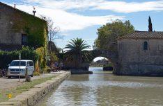 Immer wieder stille Winkel am Canal du Midi. (Foto: det)