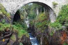Pont d`Espagne nahe bei Cauterets, eine der herausragenden Sehenswürdigkeiten in Midi-Pyrenäen. Foto: Tourismus Midi-Pyrenäen)
