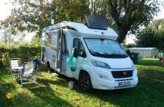 Solides Urlaubsgefährt: Der Bürstner Lyseo t 690 konnten auf der Tour durchweg überzeugen. (Foto: det)