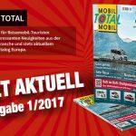 Stellplatz-Führer Mobil Total gehört in jedes Wohnmobil