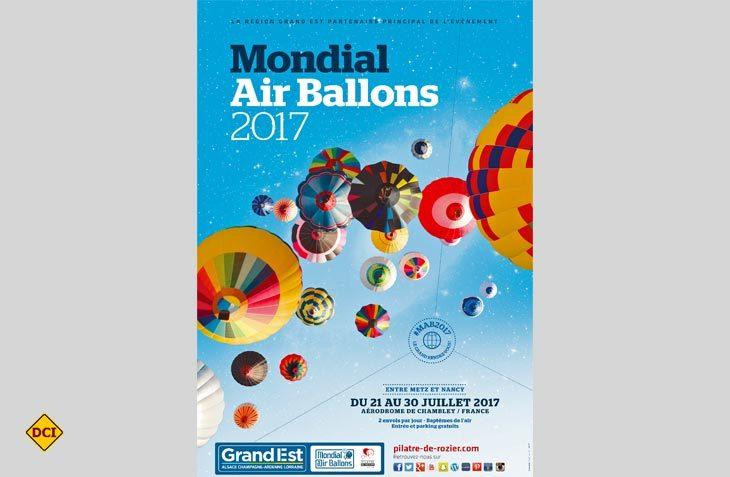 Ende Juli schweben über 500 Heissluftballons bei der Mondial Air Ballons 2017 über Felder, Städte und Wälder in Lothringen hoch hinauf in den Himmel. (Foto: Pilatre de Rozier)