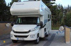 Auch für Reisemobile perfekt ausgerüstet – Campingplätze in Nordjütland. (Foto: hcb)