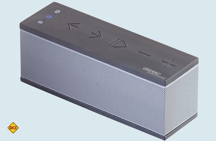 Drahtloser Musikgenuss und Freisprecher für unterwegs – auvisio Bluetooth-Soundbox mit frischem Klang und satten Bässen. (Foto Werk)