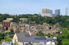 Blick von der Altstadt von Luxembourg zum Kirchberg. (Foto visitluxembourg)