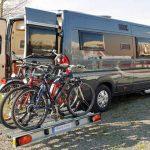 Schwenkbarer Fahrradträger für Kastenwagen von SMV
