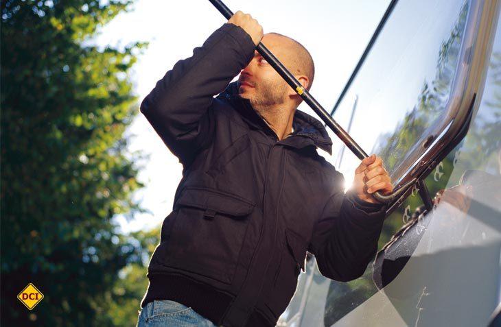Diebstahl und Einbruch an Freizeitfahrzeugen kann man nicht verhindern, aber man kann den Panzerknackern die Arbeit erschweren. (Foto: Dometic)