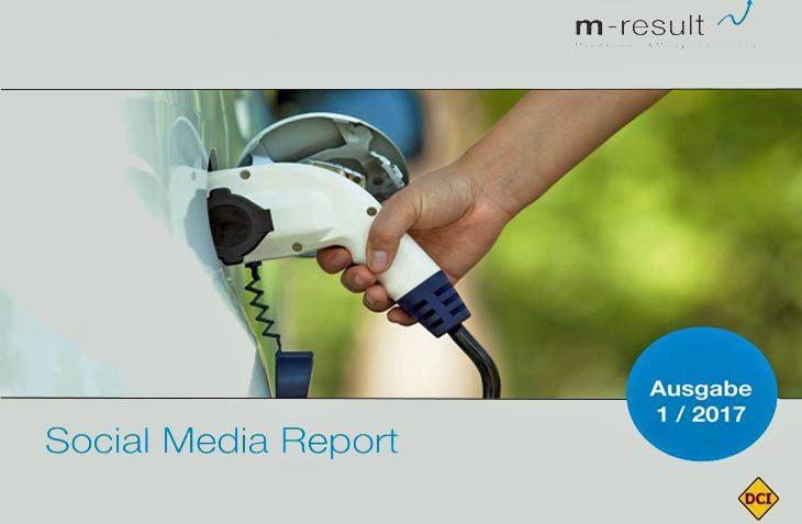 Der Social Media report von m-result zeigt: Deutschlands E-Mobilität schwächelt stark. (Foto: m-result)