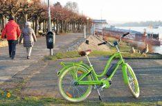 Das Retro-Bike Electra townie Go! ist ein echter Hingucker. (Foto: det)