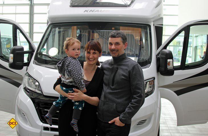 Die Musikerin Carmen Underwater ist mit Sohn Enno und ihrem Mann im Reisemobil quer duruch Europa auf Tour. (Foto: Truma)