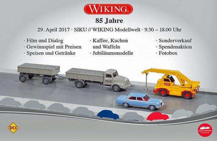 Die ganze Welt des Modellautos tut sich für Fans am Wiking-Tag 2017 auf. (Foto: Werk)