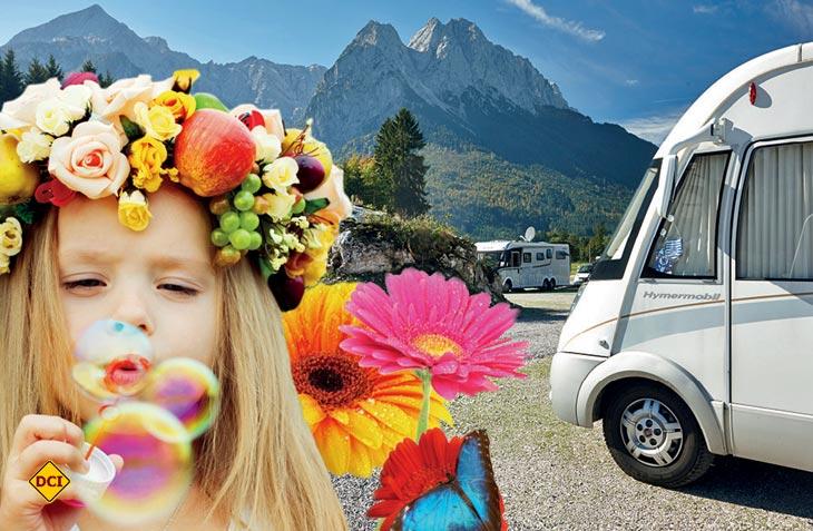 Das Camping Resort Zugspitze lädt zu einem bunten Pfingsprogramm nach Grainau ein. (Foto Zugspitz Resort)