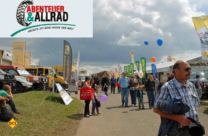 Zum 19. Mal fand die weltgrößte Off-Road-Messe Abenteuer & Allrad in Bad Kissingen statt. (Foto: det)
