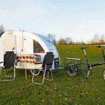Typisch dänisch: Radurlaub mit Bike-Wohnwagen am Haken