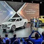 Mercedes-Benz Vans gibt ersten Ausblick auf den Pick Up mit Stern