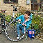 Frühlings-Fahrradcheck für das Beiboot