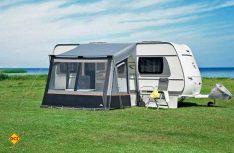 Das Caravan-Vorzelt Fortuna II von dwt-Zelte. (Foto: dwt-Zelte)