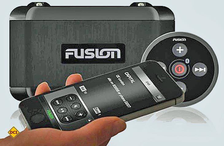 Mit dem Update der Fernbedienung-App hat Fusion die Funktionen der App umfangreich erweitert. (Foto: Werk)