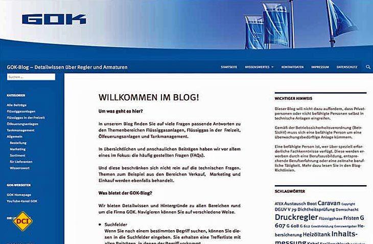 Der Gok-Blog informiert über alle Fragen bei Flüssiggas, Heizöl und Tankmanagement. (Foto: DCI-Archiv)