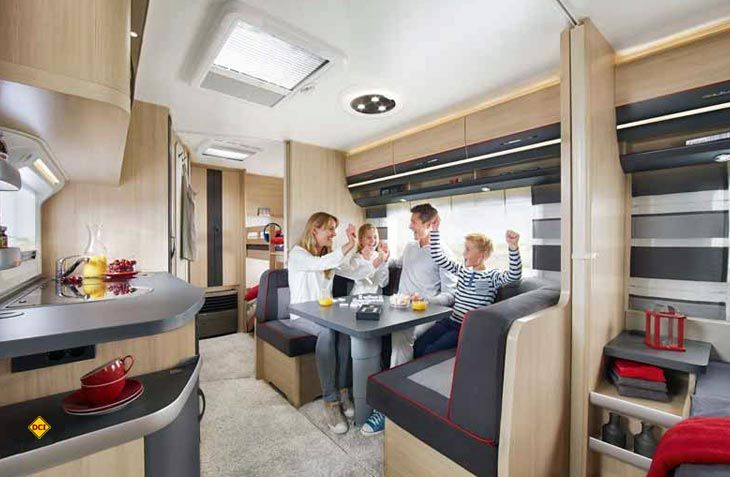 kurz vorgestellt die neue hobby caravan baureihe de luxe edition deutsches caravaning institut. Black Bedroom Furniture Sets. Home Design Ideas