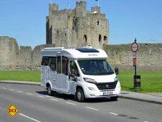 Die Hobby Van-Klasse überzeugt mit formschön gestylten, schmalen und kompakten Fahrzeugen. (Foto: det)