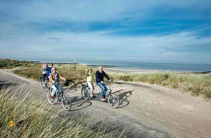 Radeln und genießen ist das Motto der Rad-Touren durch die Niederlande. (Foto: Niederland Tourismus)