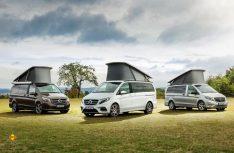 Mercedes-Bent hat seine Marco Polo Reisemobile mite Horizon um ein drittes Modell erweitert. (Foto: Werk)
