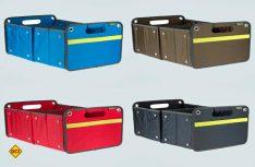 Die Meori Faltboxen sind in vier verschiedenen Farben erhältlich. (Foto: Werk)