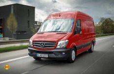 Der Mercedes-Benz Sprinter ist nun in einer 5,5 Tonnen-Variante erhältlich und bekommt neue Motoren. (Foto: Werk)