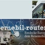 Website reisemobil-routen.de mit neuen Routen