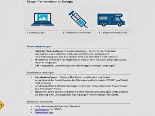 Die Überprüfung des Impfstatus gehört auch für Europareisen zur Reisevorbereitung. (Foto: Pfizer