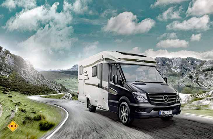 Rent easy, die Hymer Reisemobil-Vermietung vermittelt Premiumfahrzeug an mittlerweile 15 Mietstationen in Deutschland. (Foto: Rent easy)