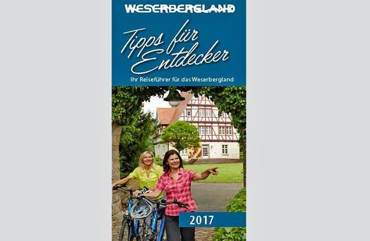 """Reiseführer durch das Weserbergland: Die neue Broschüre """"Tipps für Entdecker 2017"""" liegt jetzt vor. (Foto: Solling-Vogler-Region)"""
