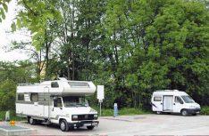 Der gut ausgestattete und zentral gelegene Reisemobil-Stellplatz von Münnerstadt ist die ideale Basisstation für einen Besuch der Freilichtspiele. (Foto: Stadt Münnerstadt)