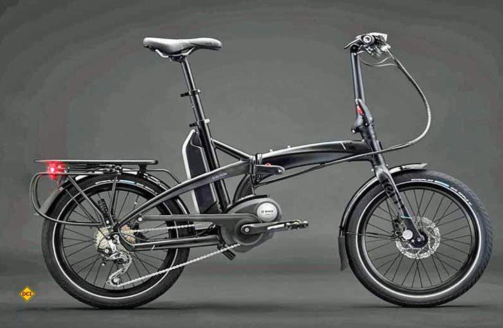 Mit dem Faltrad Elektron bietet Tern erstmals ein E-Bike mit Bosch-Antrieb an. (Foto: Tern)