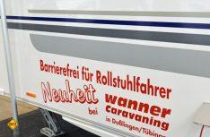 Wanner Caravaning hat in Zusammenarbeit mit der Beratungsfirma von Gotthilf Lorch einen behindertengerechten Caravan entwickelt und gebaut. (Foto: det)