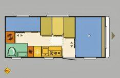Grundriss Adria Aviva 522 PT. (Grafik: Werk)