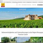 Burgund-Franche-Comté mit neuem deutschsprachigen Internetauftritt