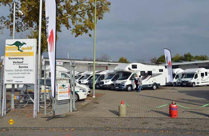 Der Deutsche Caravaning Handels-Verbands DCHV meldet für das erste Quartal 2017 ein leichtes Wachstum bei gebrauchten Freizeitfahrzeugen. (Foto: det)