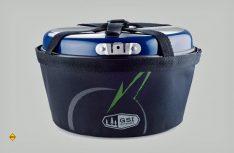 Alle Koch- und Ess-Sets von GSI können platzsparend in einem robusten Nylonsack gestapelt werden. (Foto: GSI)