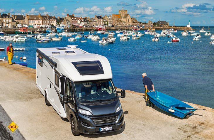 IC-Rent von der Fachhandelskette Intercaravaning ist eine Reisemobil-Vermietung in Kooperation mit dem ADAC. (Foto; Intercaravaning)