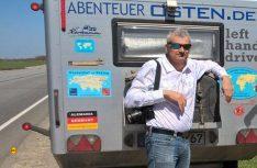 Traum-Tour-Leiter Konstantin Abert. (Foto: Caravan Salon)