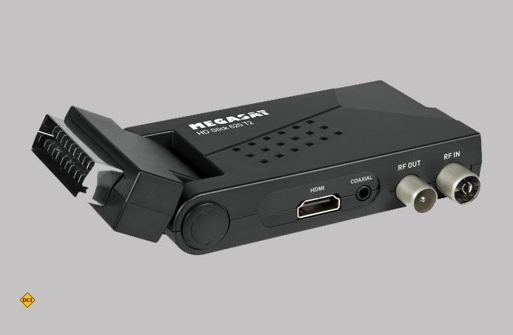 Der HD Stick 620 T2 von Megasat ist ideal für alle, die ohne Sat-Anlage alle frei empfangbaren Sender in bester HD-Qualität empfangen möchten. (Foto: Megasat)