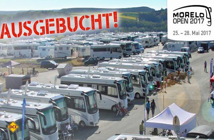 Das Reisemobil-Treffen Morelo-Open am Morelo-Werksgelände in Schlüsselfeld ist komplett ausgebucht. (Foto: Morelo)