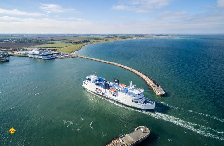 Scandlines Fähren bringen Rockfans zum Roskilde-Festival nach Dänemark. (Foto: Scandlines)