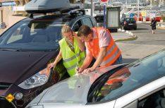Der mehrsprachige Europäische Unfallbericht sollte immer ausgefüllt werden. (Foto: GDV)