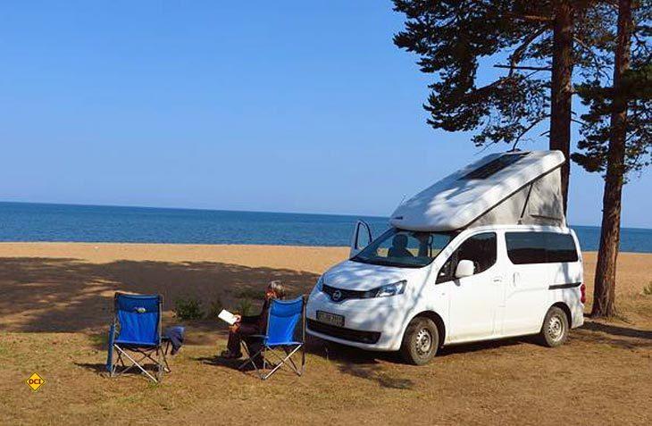 Der Zooom Stadtindianer ist als ktaftstoffgetriebene Version seit 2012 erfolgreich als Reisemobil unterwegs. (Foto: Zooom)