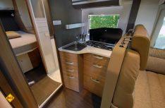 Die neue Coral-Sreie profitiert von den ergonomische Küchen mit bessere Aufteilung des Arbeitsplatzes. (Foto: det)