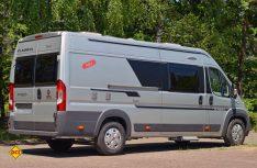Die Twin-Vans der neuen Saison erkennt man am neuen grafischen Außendekor. (Foto: det)