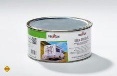 Für Profis gibt es die neue Feinspachtelmasse von Dekalin in der Zwei-Kilo-Dose. (Foto: Dekalin)