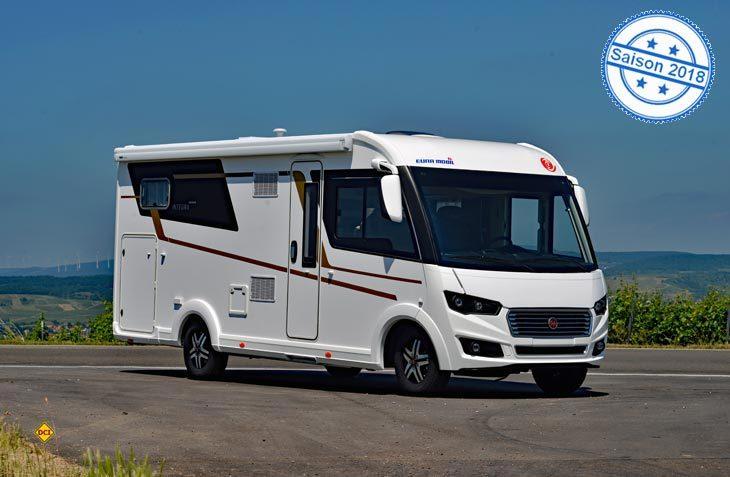 Eura Mobil hat seine neue Top-Baureihe Integra um eine Variante mit knapp über sieben Meter Außenlänge erweitert. (Foto: det)
